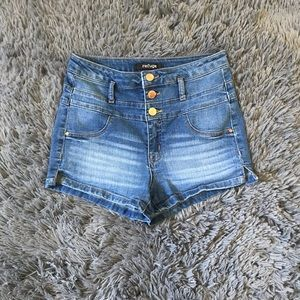Refuge high waisted shorts